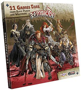Zombicide: Black Plague Extra Tiles Pack (11 Game Tiles)