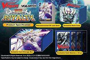 Cardfight!! Vanguard Trading Card Game Trial Deck: Rise to Royalty