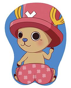 One Piece 3D Wrist Rest Mousepad Tony Tony Chopper