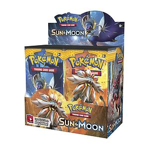 Pokemon Trading Card Game: Sun & Moon Booster Box (36 Packs)