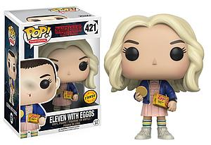 Pop! Television Stranger Things Vinyl Figure Eleven with Eggos #421 (Chase)