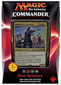 Magic the Gathering: Commander 2016 - Open Hostility Deck