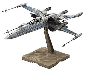 Star Wars 1/72 Scale Model Kit: Resistance X-Wing Fighter (The Force Awakens)
