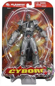 "DC Direct Flashpoint The Flash 6"" Series 1 Cyborg"