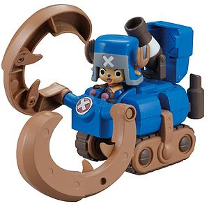 One Piece Model Kit: Chopper Robo Super 3 Horn Dozer