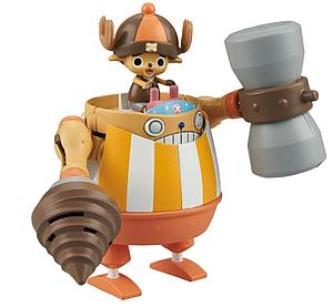 One Piece Model Kit: Chopper Robo Super 4 Kung Fu Tracer