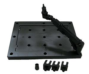 Gundam Action Base 3 1/144 & 1/100 Scale Stand: Black