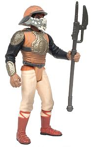 Star Wars The Power of the Force Lando Calrissian as Skiff Guard with Skiff Guard Force Pike