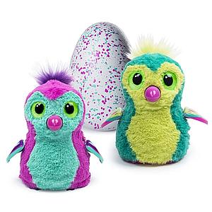 Hatchimals Interactive Creature Penguala Pink/Teal Hatching Egg
