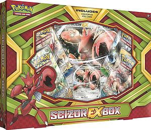 Pokemon Trading Card Game: Scizor-EX Box