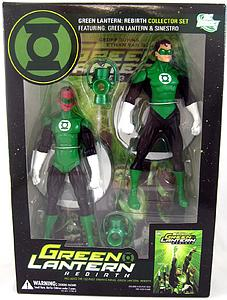 "DC Direct Green Lantern Rebirth Green Lantern 6"" Series Box Set"