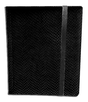 Side Loading Binder: Black (Dragon Hide)