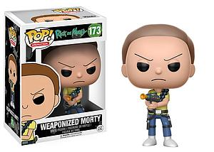 Pop! Animation Rick & Morty Vinyl Figure Weaponized Morty #173