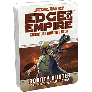 Star Wars: Edge of The Empire Signature Abilities Deck - Bounty Hunter Signature Abilities