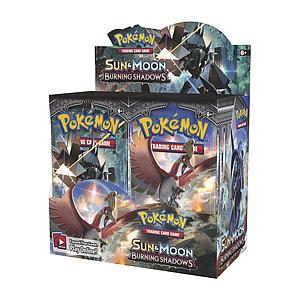Pokemon Trading Card Game: Sun & Moon (SM3) Burning Shadows Booster Box