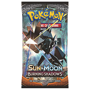 Pokemon Trading Card Game Sun & Moon (SM3) Burning Shadows Booster Pack