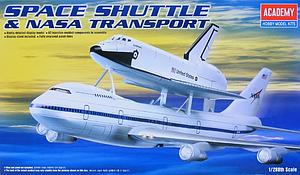 Academy 1:288 Scale Rocket Plastic Model Kit Space Shuttle & NASA Transport (ACA12708)