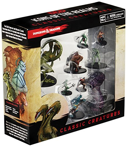 Dungeons & Dragons Roleplaying Game Icons of the Realm: Classic Creatures Box Set