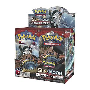 Pokemon Trading Card Game: Sun & Moon (SM4) Crimson Invasion Booster Box