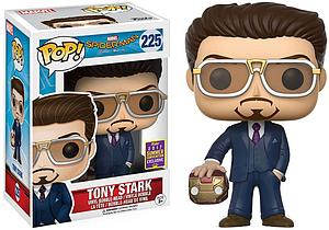 Pop! Marvel Spider-Man Homecoming Vinyl Bobble-Head Tony Stark (Holding Helmet) #225 2017 Summer Convention Exclusive