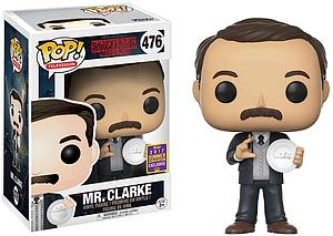 Pop! Television Stranger Things Vinyl Figure Mr. Clarke #476 2017 Summer Convention Exclusive