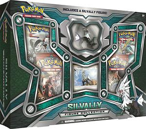 Pokemon Trading Card Game: Silvally Figure Collection Box
