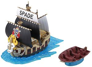 One Piece Grand Ship Collection Model Kit: #12 Spade Pirates Ship