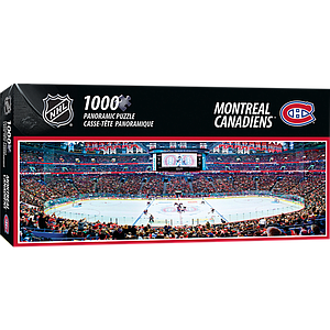Panoramic Puzzle: NHL Hockey Montreal Canadiens