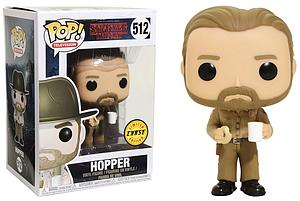 Pop! Television Stranger Things Vinyl Figure Hopper (No Hat) #512 (Chase)