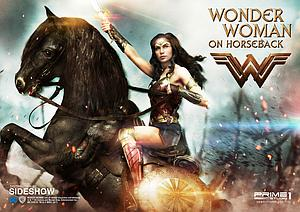 Wonder Woman on Horseback
