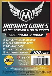 Race! Formula 90 Card Sleeves - Ultra Fit (55mm x 80mm)