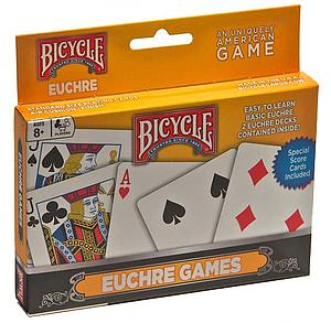 Playing Cards: Euchre Games