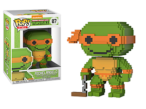 Pop! 8-Bit Teenage Mutant Ninja Turtles Vinyl Figure Michelangelo #07
