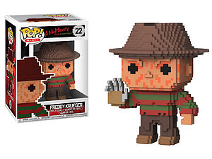 Pop! 8-Bit Horror A Nightmare on Elm Street Vinyl Figure Freddy Krueger #22 (Vaulted)