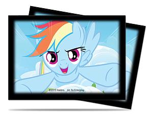 My Little Pony Sleeves 65-pack Standard Size: Rainbow Dash