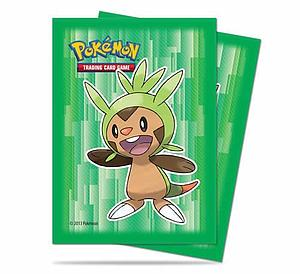 Card Sleeves Pokemon 65-pack Standard Size: XY Chespin