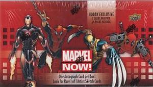 Upper Deck Marvel Now! Hobby Trading Cards: Booster Box