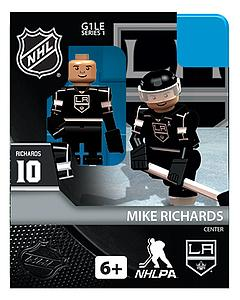 NHL Hockey Minifigures: Mike Richards (Los Angeles Kings)