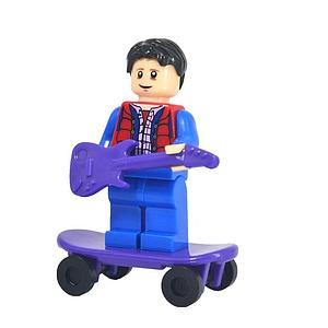 Movies Back to the Future Minifigure: Marty McFly