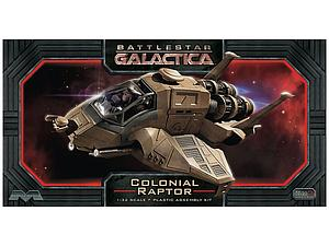 Moebius Battlestar Galactica 1/32 Model Kit Colonial Raptor (962)