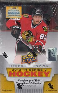 2013-14 NHL Upper Deck Series 2 Hobby Box