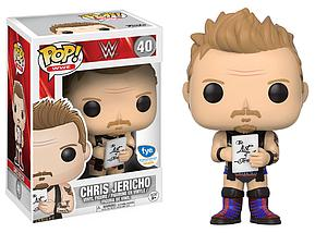 Pop! WWE Vinyl Figure Chris Jericho (Blue Boots) #40 FYE Exclusive
