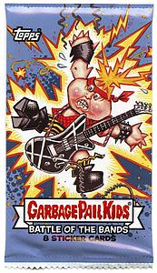 2017 Garbage Pails Kids Series 2 Trading Cards: Battle of the Bands Hobby Pack