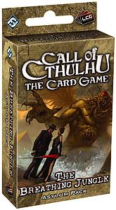 Call of Cthulhu: The Card Game - The Breathing Jungle Asylum Expansion Pack