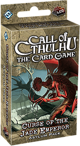 Call of Cthulhu: The Card Game - Curse Of The Jade Emperor Asylum Pack