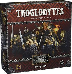 Massive Darkness: Enemy Box - Troglodytes