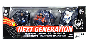 NHL Next Generation 3-Pack: Patrik Laine, Connor McDavid & Auston Matthews