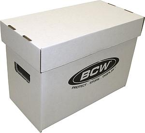 Comic Book Box (Short) Case (10-Count)