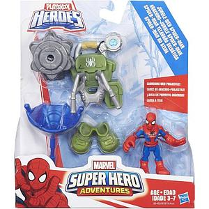 Playskool Heroes Marvel Super Hero Adventures Jungle Web Spider-Man