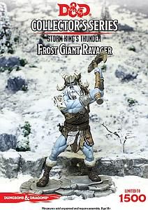 Dungeons & Dragons Miniatures Storm King's Thunder Collector's Series: Frost Giant Ravager